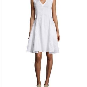 Theory Kalsington White Dress NWT